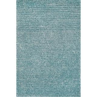 Hand-tufted Elle Ocean Shag Rug (7'6 x 9'6)