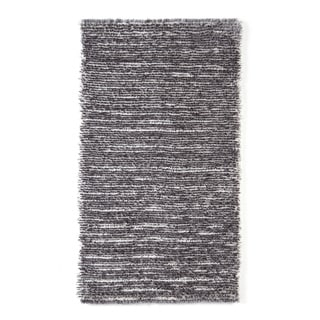 Hand-tufted Elle Steel Shag Rug (2'3 x 3'9)