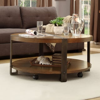 TRIBECCA HOME Lawson Round Cocktail Table