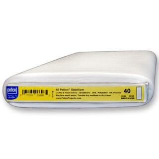 Pellon 40 White Sew-in Mediumweight Fabrics Stabilizer