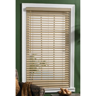 Bahama Sand Woven Fabric Slat Blinds