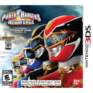 Nintendo 3DS - Power Rangers Megaforce