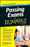 Passing Exams for Dummies (Paperback)