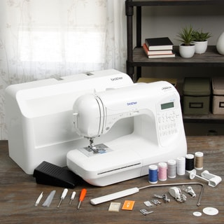 Brother PC420PRW 'Project Runway' Computerized Sewing Machine with Bonus Thread
