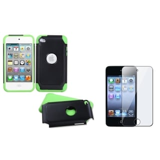 BasAcc Hybrid Case/ LCD Protector for Apple iPod Touch 4th Generation