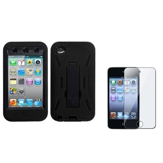BasAcc Stand Case/ LCD Protector for Apple iPod Touch 4th Generation