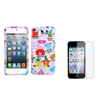BasAcc Pupply Case/ LCD Protector for Apple iPod Touch 5th Generation