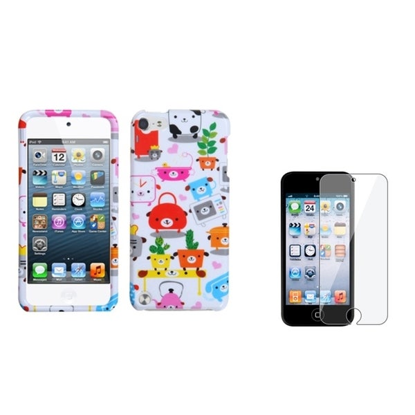 INSTEN Pupply iPod Case Cover/ LCD Protector for Apple iPod Touch 5th Generation