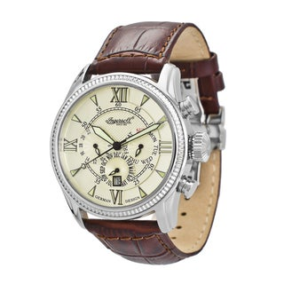 Ingersoll Men's Bel Air Cream Dial Automatic Watch