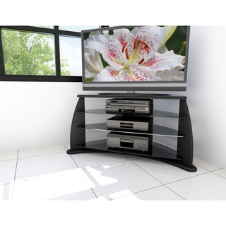 Sonax 'Florence' 42-inch Midnight Black TV Stand