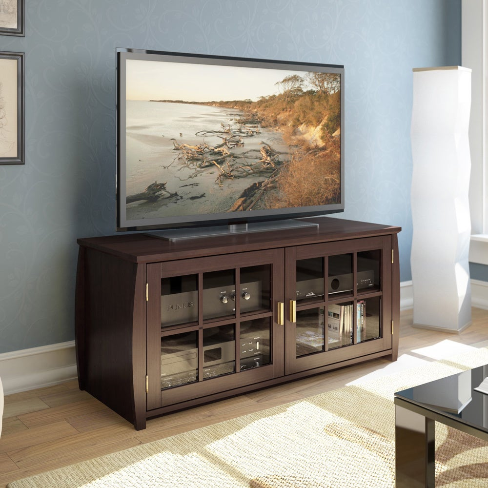 Sonax Washington 48-inch Wood Veneer TV/ Component Bench at Sears.com