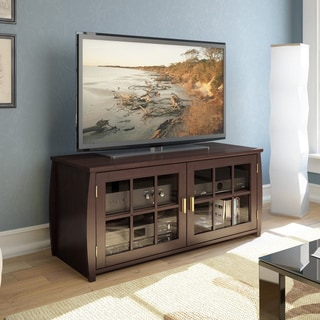Sonax Washington 48-inch Wood Veneer TV/ Component Bench
