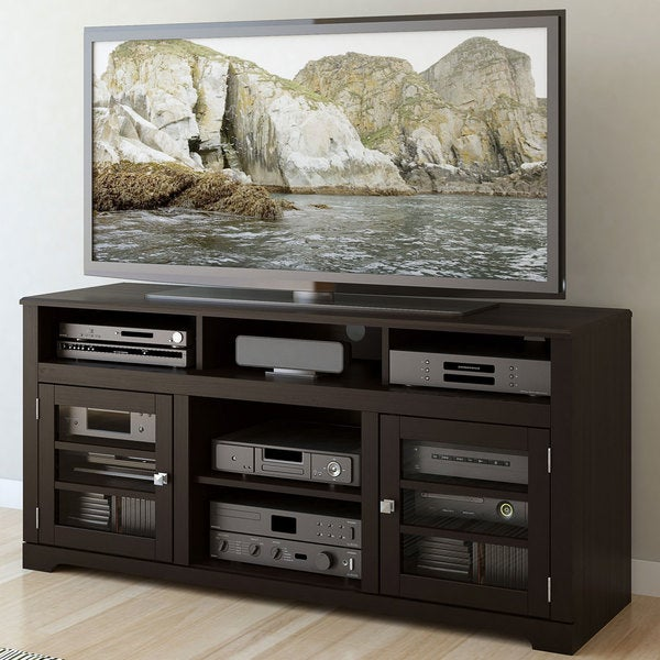 Sonax West Lake Mocha Black 60-inch Television Bench