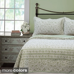 Brighton Full/Queen Toile 3-piece Quilt Set