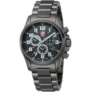 Luminox 'Atacama Field Chronograph Alarm 1942' Carbon Fiber Dial Watch