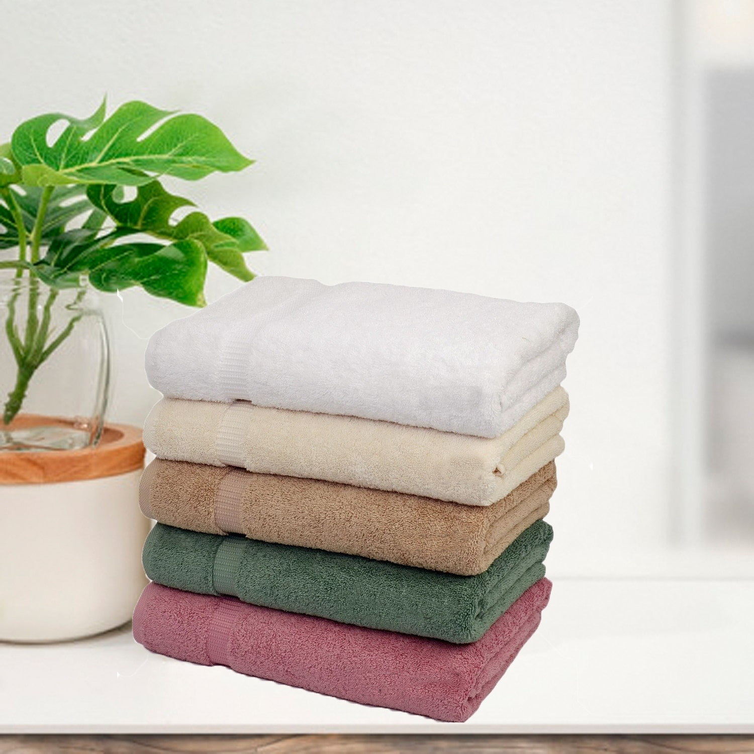 Salbakos 'Cambridge' Luxury Turkish Cotton 4-piece Bath Towel Set at Sears.com