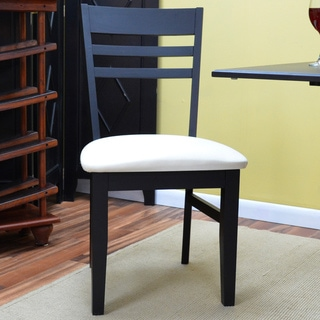Hayden Antique Black Upholstered Dining Chair
