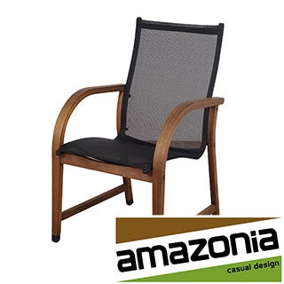 Cosmopolitan Eucalyptus and Sling Brown/Black Arm Chairs (Set of 4)