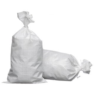 Trademark 15 x 27 Woven Polypropylene Sand Bags with Ties and UV Protection