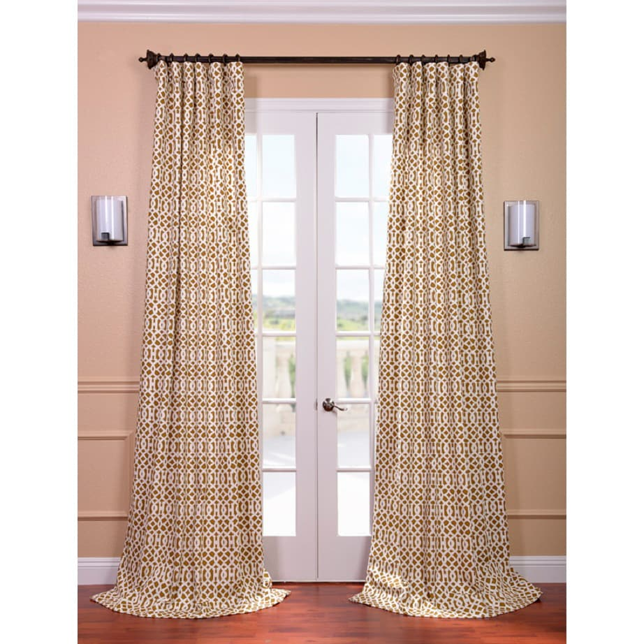 EFF Nairobi Desert Printed Cotton Curtain Panel at Sears.com