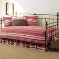 Stone Cottage Fresno Red Quilted Cotton 5-piece Daybed Set