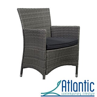 Liberty Grey Wicker Deluxe Outdoor Armchairs (Set of 2)