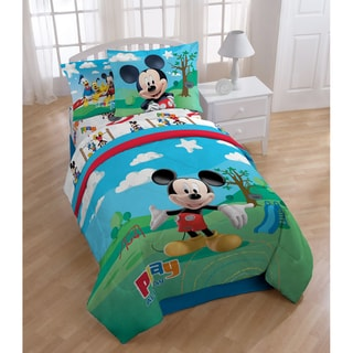 Mickey Mouse Clubhouse 8-piece Bed in a Bag with Sheet Set