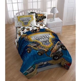 Monster Jam 'Destruction' 5-piece Bed in a Bag with Sheet Set