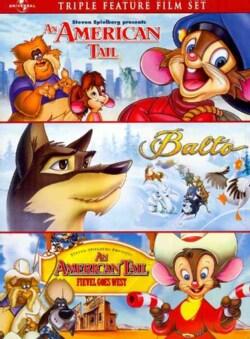 An American Tail/Balto/An American Tail: Fievel Goes West (DVD)