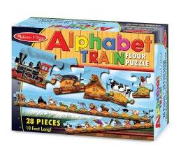 Alphabet Train: 28 Pieces Floor (General merchandise)