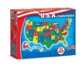 U.s.a. Map: 51 Pieces Floor (General merchandise)