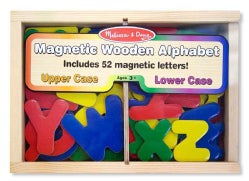 Magnetic Wooden Alphabet (Toy)