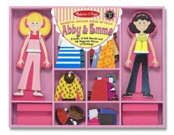 Abby & Emma Magnetic Dress-up (Novelty book)
