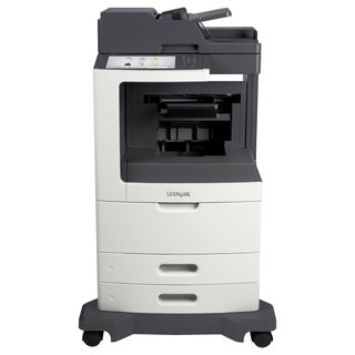 Lexmark MX810 MX810DFE Laser Multifunction Printer - Monochrome - Pla