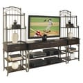 Bordeaux 3-piece Entertainment Center Espresso Finish