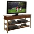 St. Ives Media TV Stand Cinnamon Cherry Finish