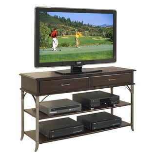 Bordeaux Media TV Stand Espresso Finish