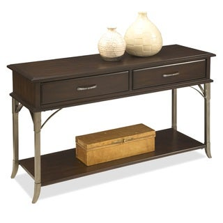Bordeaux Console Table Espresso Finish