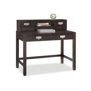 City Chic Espresso Student Desk and Hutch