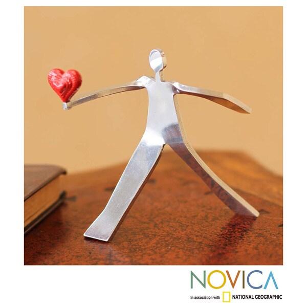 Aluminum 'A Heart for Love' Sculpture (Peru)