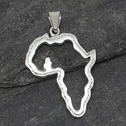 Handcrafted Sterling Silver 'Ghana, Africa' Pendant (Ghana)