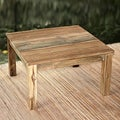 Handcrafted Reclaimed Teakwood 'Minimalist Kuta' End Table(Indonesia)