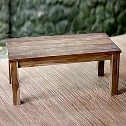 Reclaimed Teakwood 'Minimalist Kuta' Coffee Table (Indonesia)