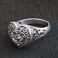 Sterling Silver 'Loyal Heart' Ring (Indonesia)