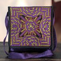 Embroidered 'Dazzling Purple Kutch' Small Sling Bag (India)
