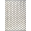 Safavieh Handmade Cambridge Moroccan Silver Tufted Wool Rug (4' x 6')