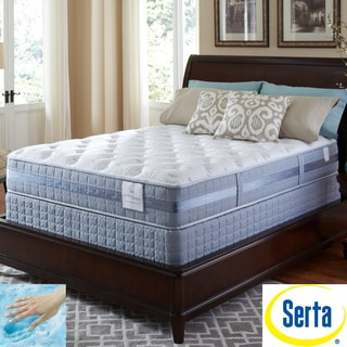 Serta Perfect Sleeper Resolution Plush Twin-size Mattress and Foundation Set