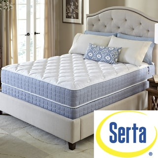 Serta Revival Firm Twin Size Mattress and Foundation Set