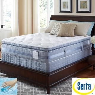 Serta Perfect Sleeper Elite Pleasant Night Super Pillowtop Twin-size Mattress and Foundation Set