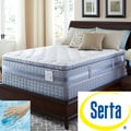 Serta Perfect Sleeper Elite Pleasant Night Super Pillowtop Twin-size Mattress and Foundation Set
